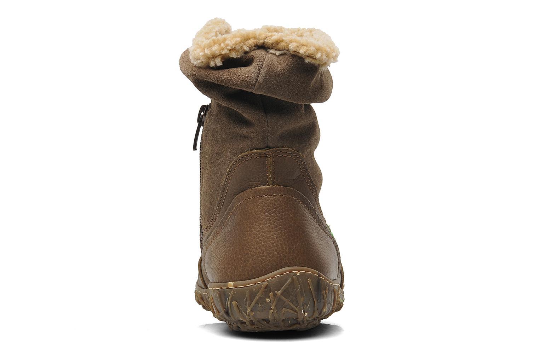 Boots en enkellaarsjes El Naturalista Nido Ella N758 Bruin rechts
