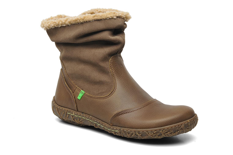 Boots en enkellaarsjes El Naturalista Nido Ella N758 Bruin detail