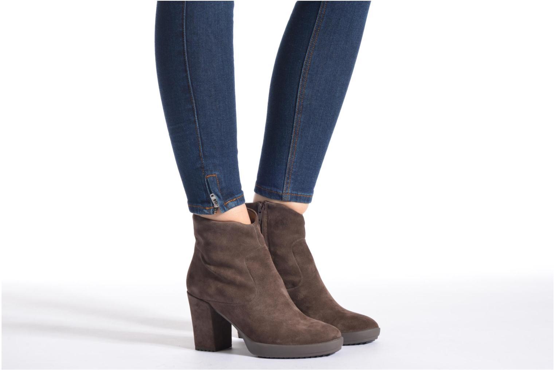 Stiefeletten & Boots Stonefly Oxy 3 braun ansicht von unten / tasche getragen