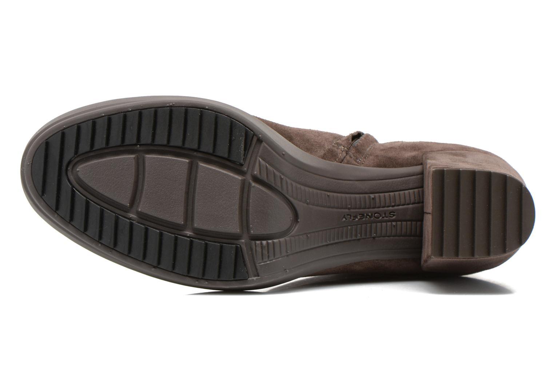 Stiefeletten & Boots Stonefly Oxy 3 braun ansicht von oben