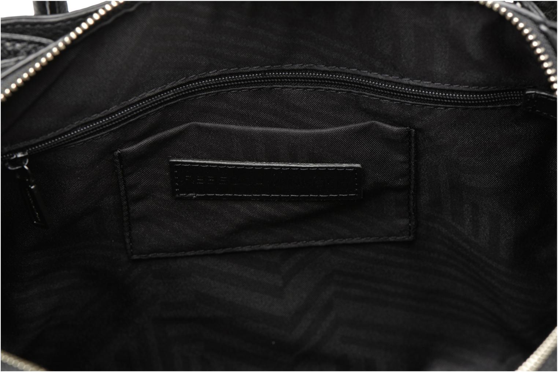 Handtassen Rebecca Minkoff Mini Perry Satchel Zwart achterkant