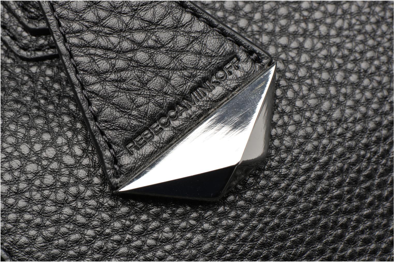 Mini Perry Satchel Black- Silver