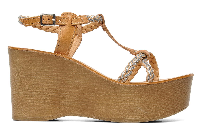 Sandales et nu-pieds Jonak Caroll Marron vue derrière