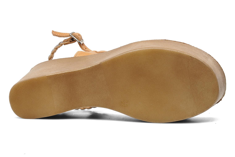 Sandales et nu-pieds Jonak Caroll Marron vue haut