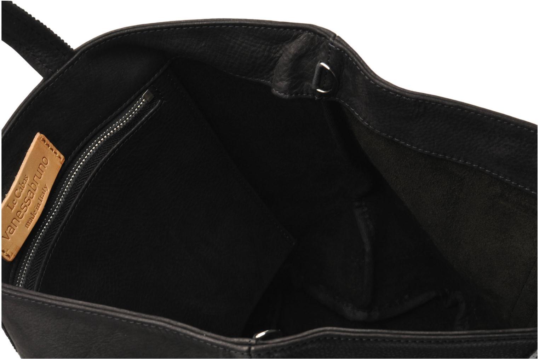 Handtassen Vanessa Bruno Cabas cuir nubucké paillettes M Zwart achterkant