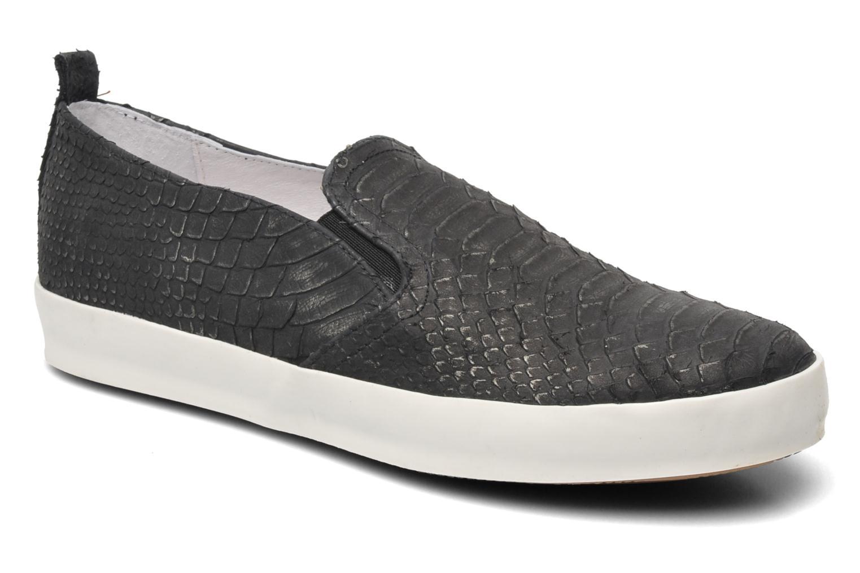 Sneakers Eden Jones Sort detaljeret billede af skoene