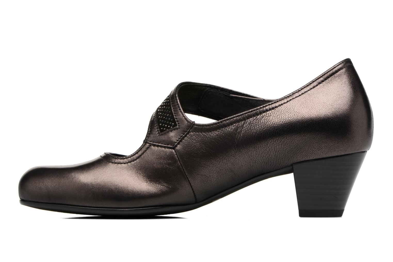 Zapatos de tacón Gabor Chiara Gris vista de frente