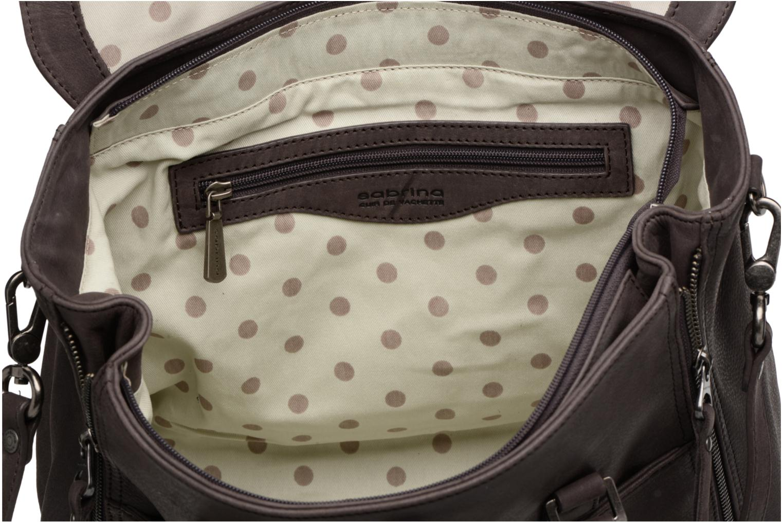 Handtassen Sabrina Charlotte Grijs achterkant