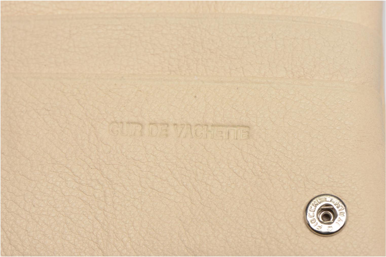 Portemonnaies & Clutches Sabrina Kate Rock beige ansicht von links