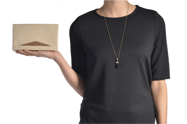 Portemonnaies & Clutches Sabrina Kate Rock beige ansicht von oben