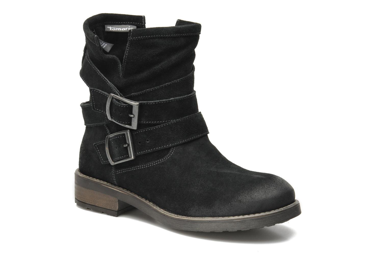Boots en enkellaarsjes Tamaris Juliana Zwart detail