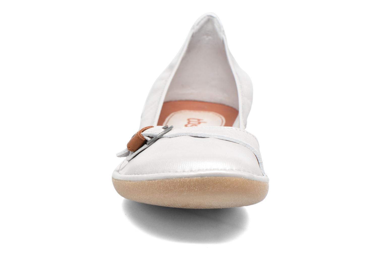 Ballerines TBS Maline Blanc vue portées chaussures