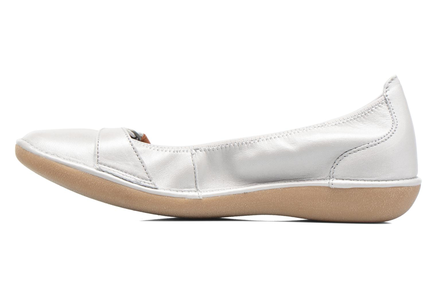 Ballet pumps TBS Maline White front view