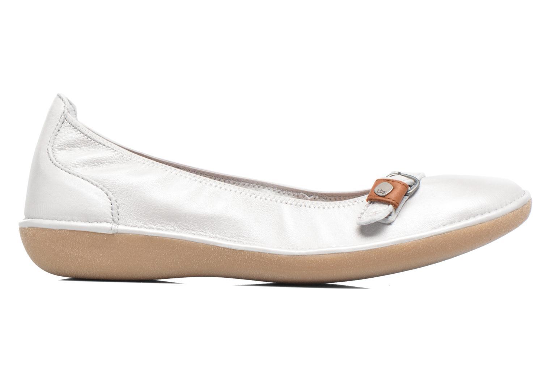 Ballet pumps TBS Maline White back view