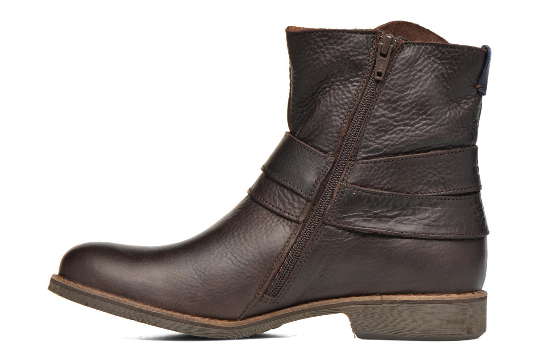 Bottines et boots TBS Marlie Marron vue face