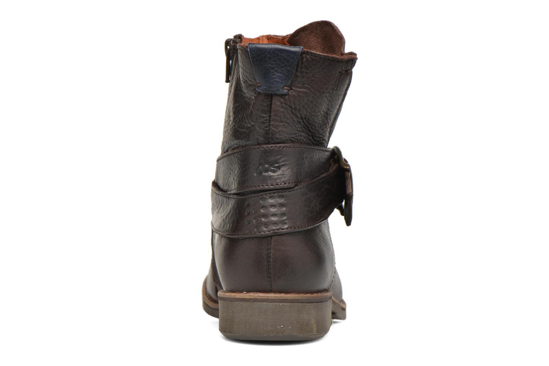 Bottines et boots TBS Marlie Marron vue droite