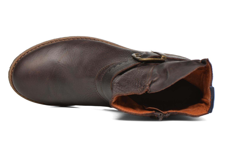 Bottines et boots TBS Marlie Marron vue gauche