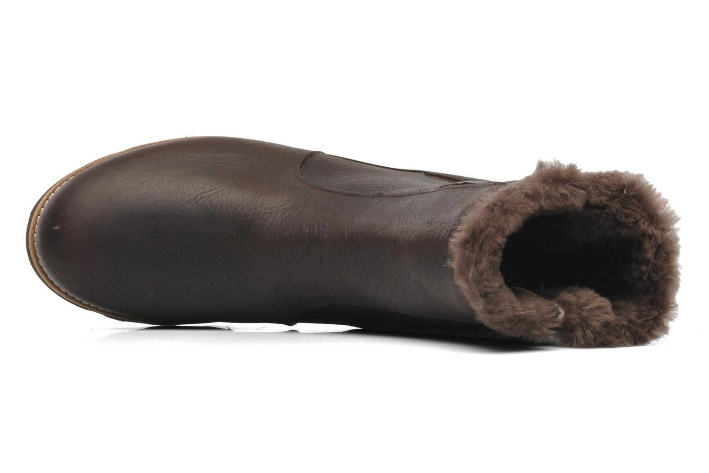 Bottines et boots TBS Aglaee Marron vue gauche