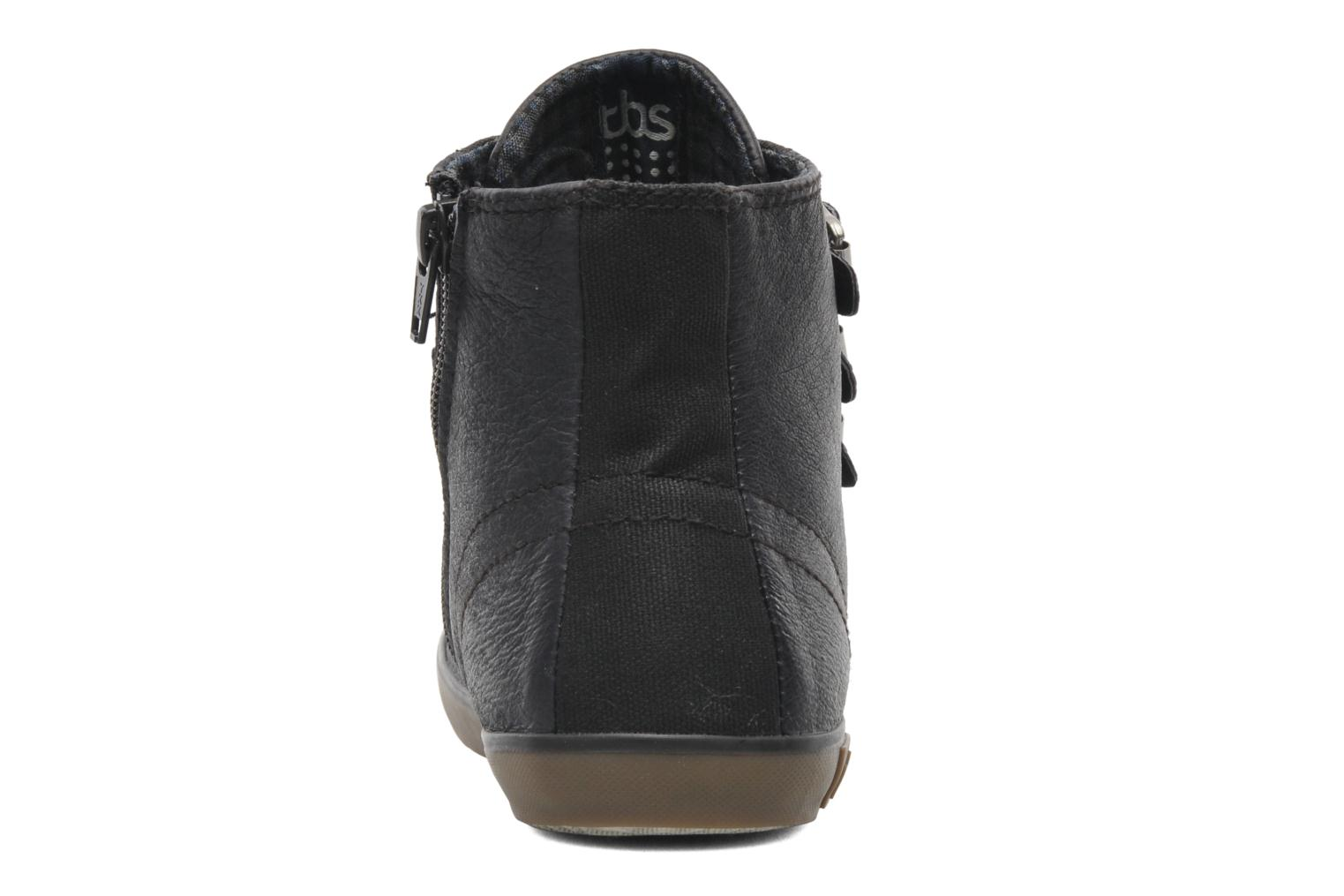 Trainers TBS Aurane Grey view from the right