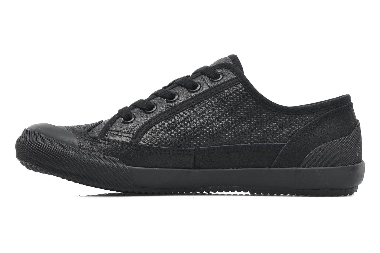 Sneakers TBS Ocelie Zwart voorkant