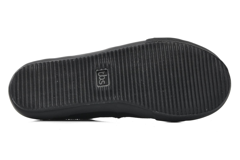 Sneaker TBS Ocelie schwarz ansicht von oben