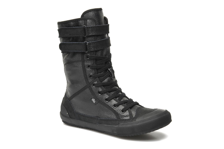 Boots en enkellaarsjes TBS Odreyh Zwart detail