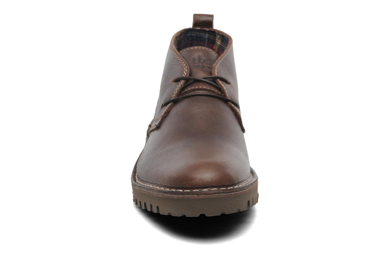 Chaussures à lacets TBS Maxime Marron vue portées chaussures