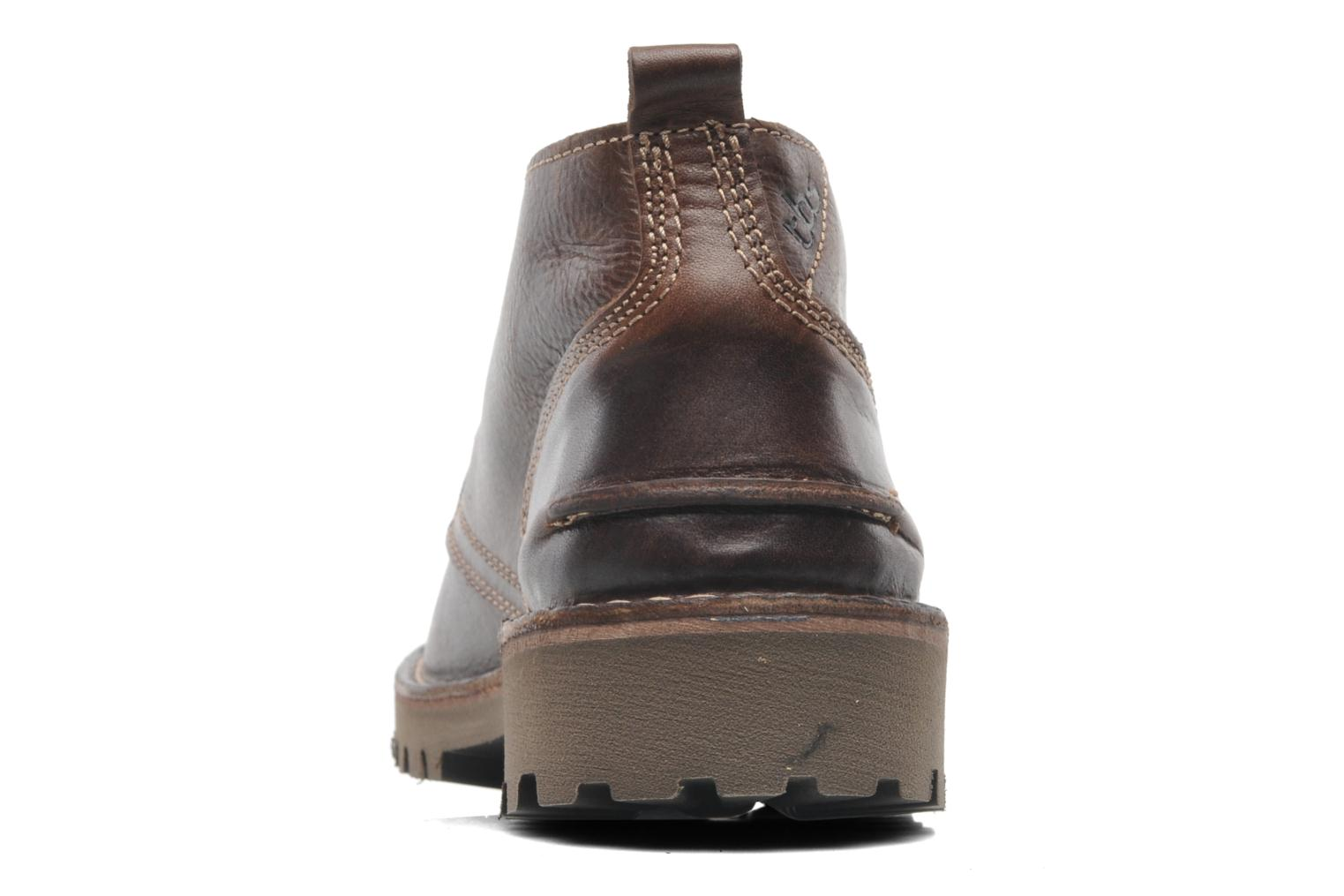 Lace-up shoes TBS Maxime Brown view from the right