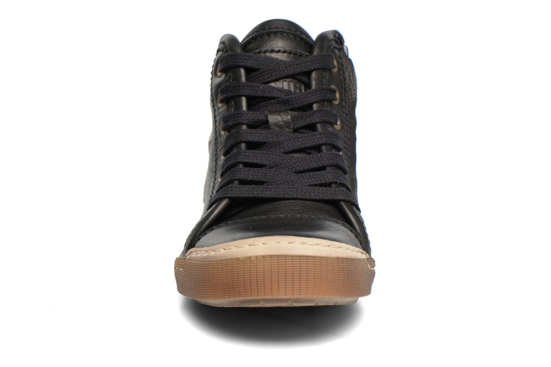 Baskets Bisgaard Henrik Noir vue portées chaussures