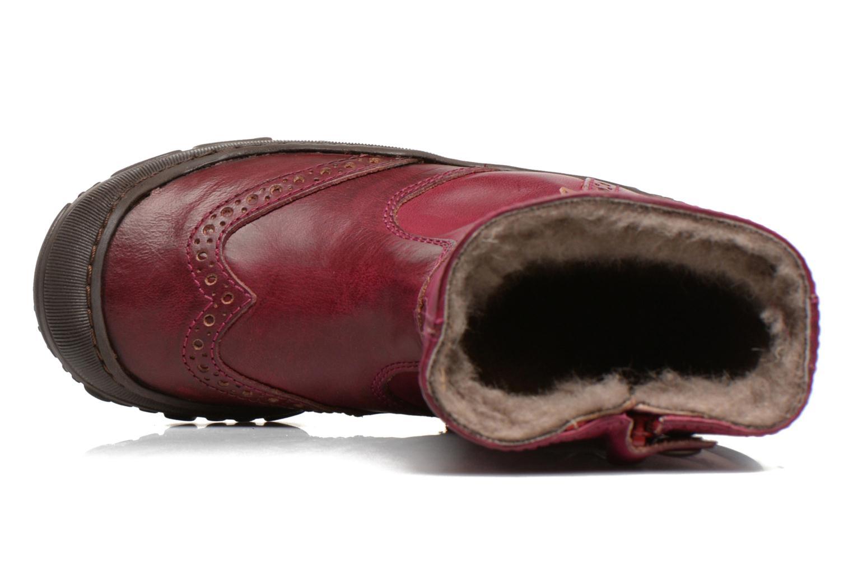Bottes Bisgaard Dansk Bordeaux vue gauche