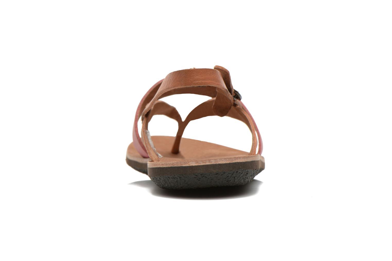 Sandales et nu-pieds Kickers spartong Rose vue droite