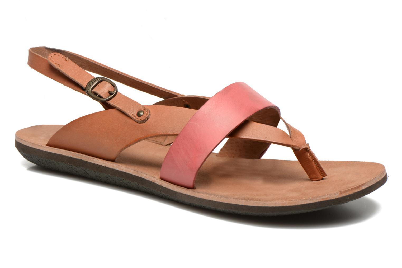 Sandales et nu-pieds Kickers spartong Rose vue détail/paire