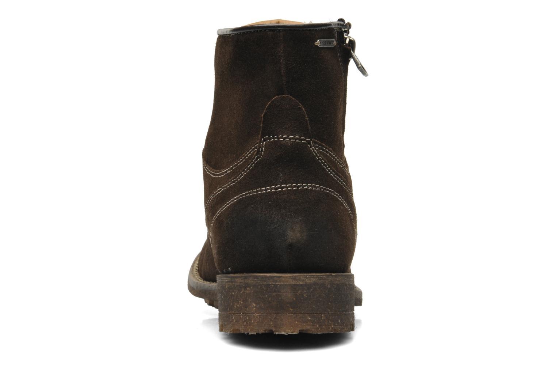 Boots en enkellaarsjes Pepe jeans Jack Booty Suede Bruin rechts