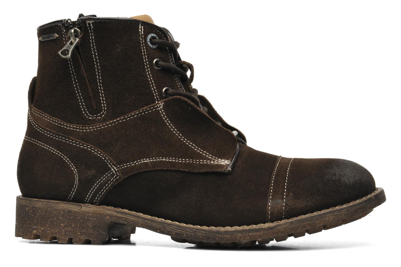 Boots en enkellaarsjes Pepe jeans Jack Booty Suede Bruin achterkant