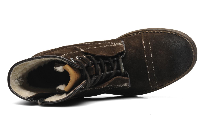 Boots en enkellaarsjes Pepe jeans Jack Booty Suede Bruin links