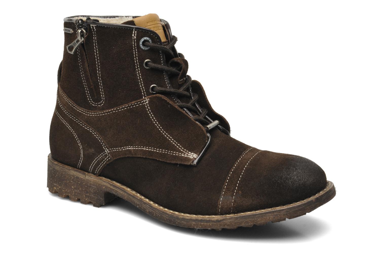Boots en enkellaarsjes Pepe jeans Jack Booty Suede Bruin detail