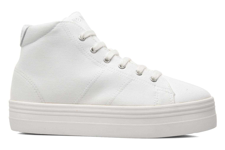 Plato Hi Sneaker White Twill