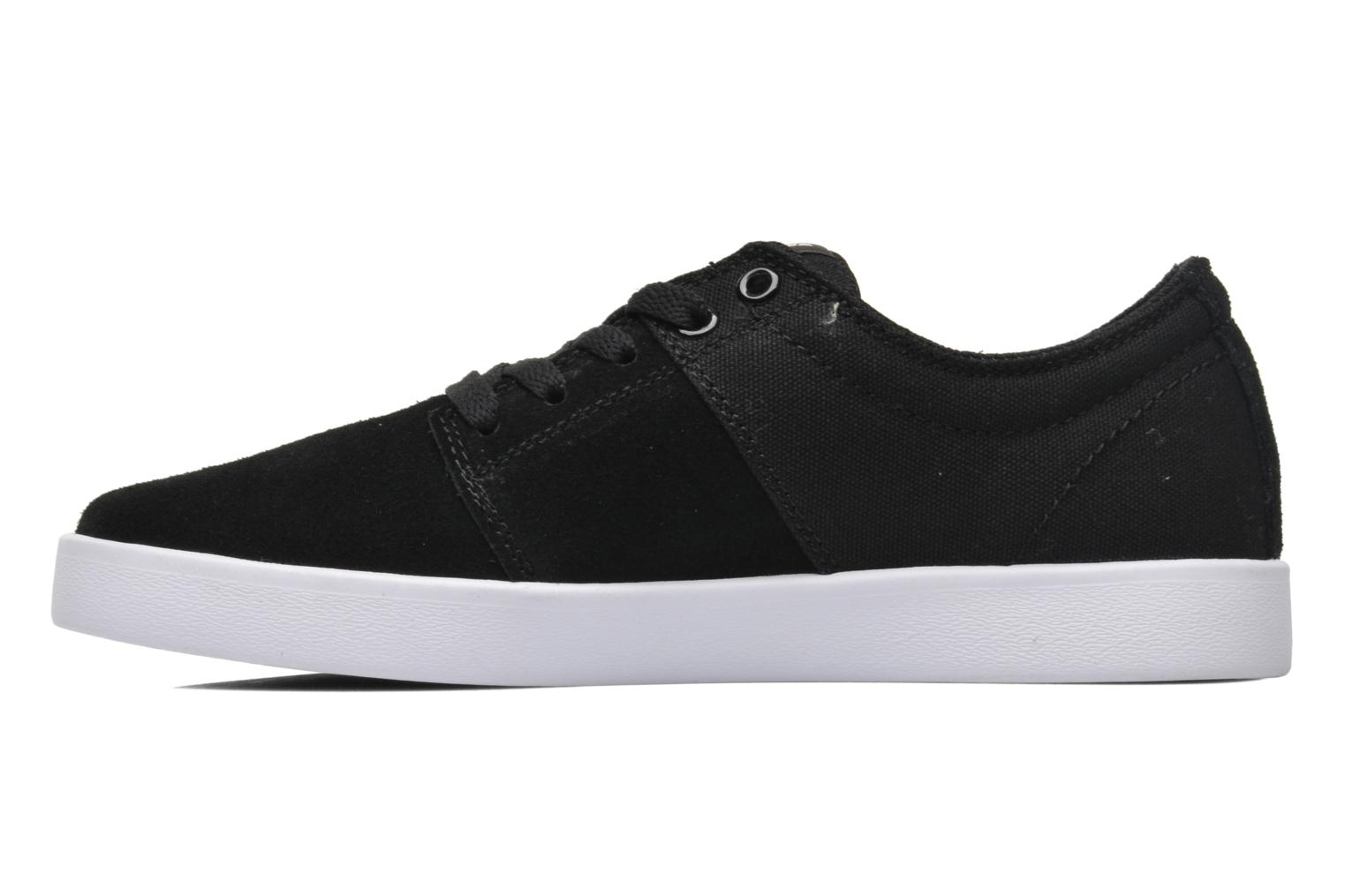Sport shoes Supra Stacks II Black front view