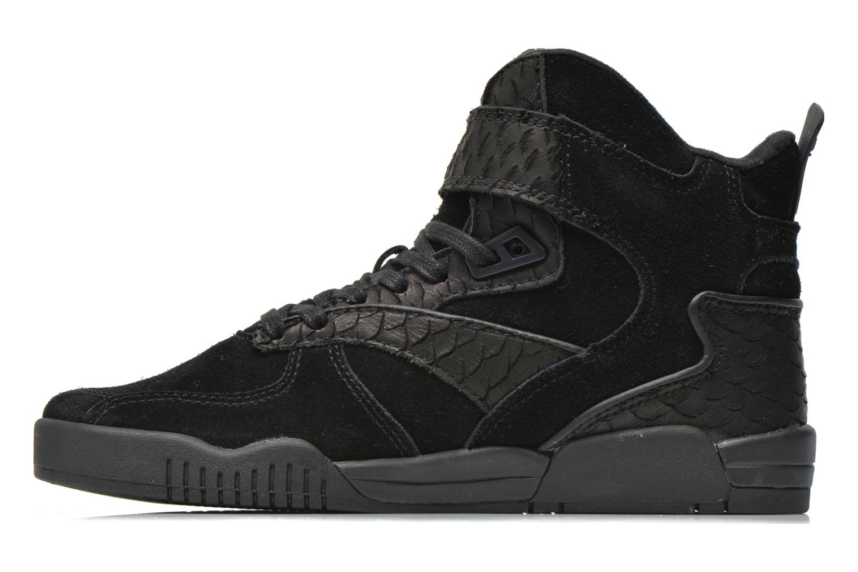 Sneaker Supra Bleeker schwarz ansicht von vorne