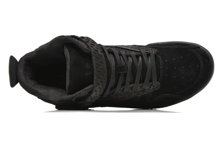 Sneaker Supra Bleeker schwarz ansicht von links