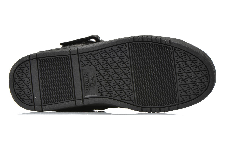 Sneaker Supra Bleeker schwarz ansicht von oben