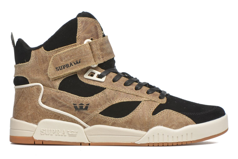 Sneakers Supra Bleeker Bruin achterkant