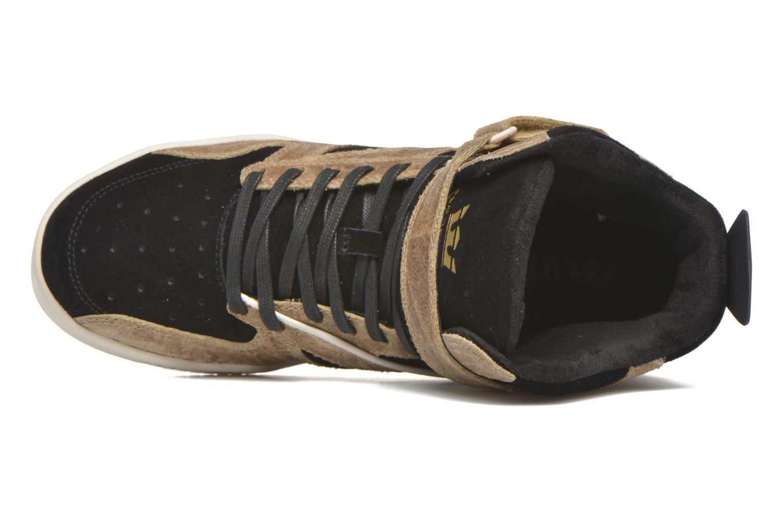 Sneaker Supra Bleeker braun ansicht von links