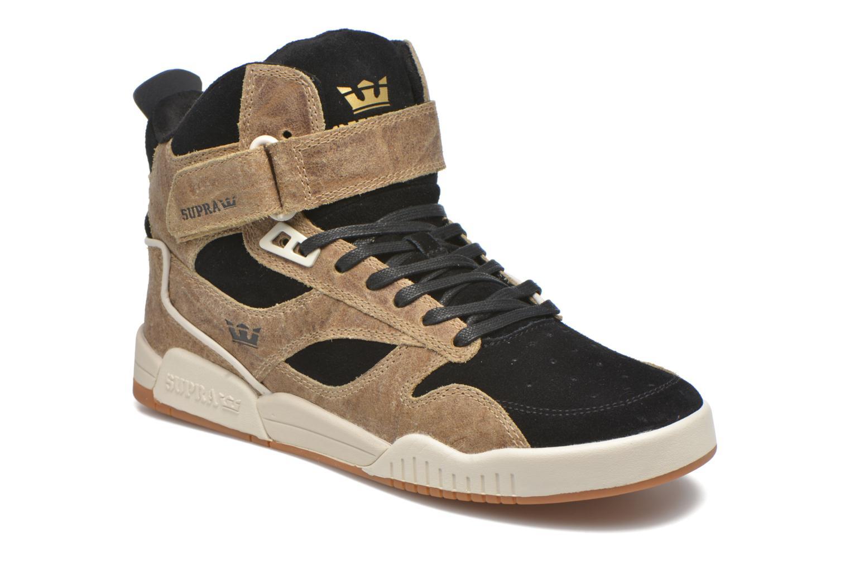 Sneaker Supra Bleeker braun detaillierte ansicht/modell