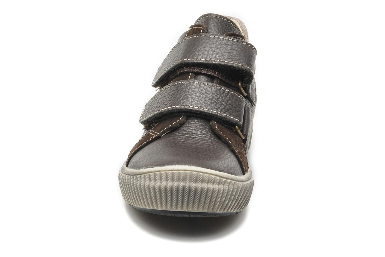 Chaussures à scratch Bopy VISTAR Marron vue portées chaussures
