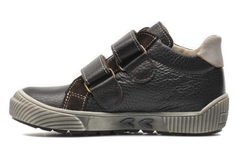 Chaussures à scratch Bopy VISTAR Marron vue face
