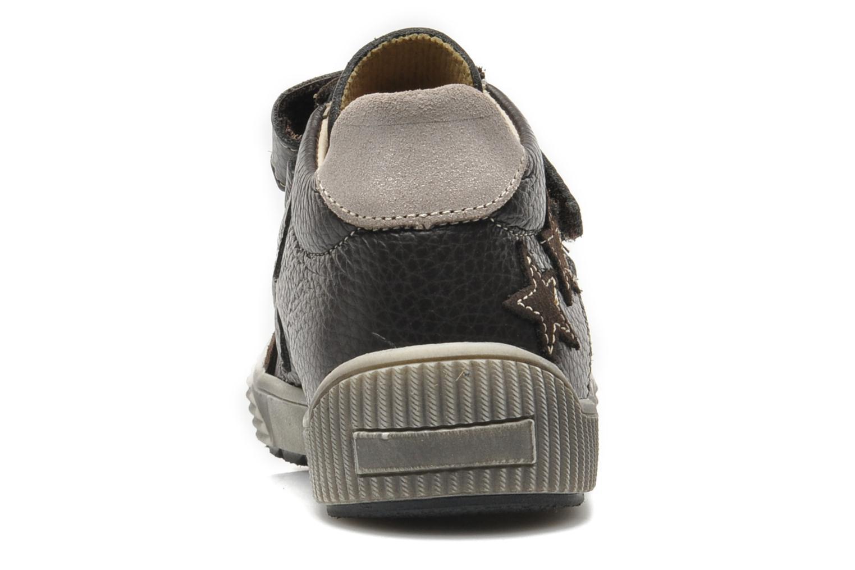 Chaussures à scratch Bopy VISTAR Marron vue droite