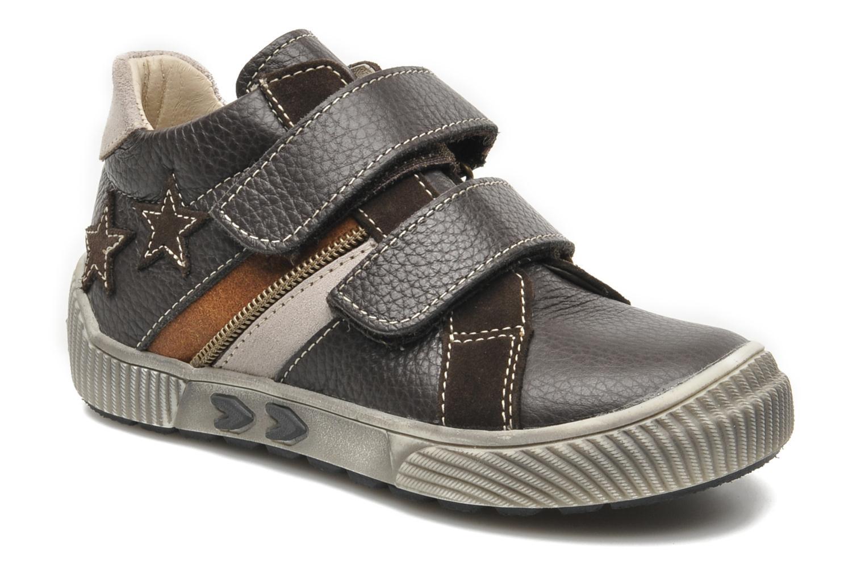 Chaussures à scratch Bopy VISTAR Marron vue détail/paire
