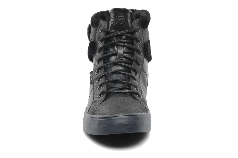 Sneaker Esprit Star Bootie 035 schwarz schuhe getragen