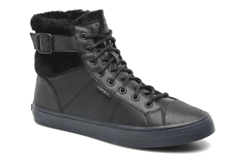 Sneakers Esprit Star Bootie 035 Zwart detail